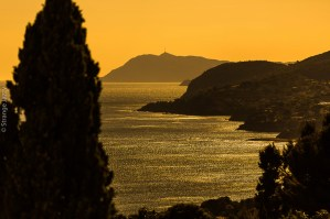 Vue sur la Pointe Péno et le mont Pradon
