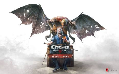 Witcher 3 Blood and Wine Box Art