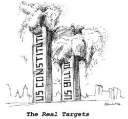 The Real Targets - our own freedoms