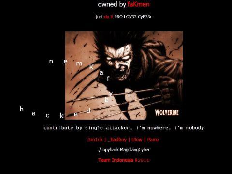 Site Hack Aug 2011