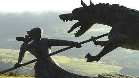 Gevaudan Statue