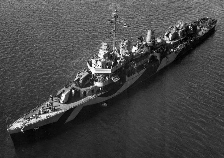 USS Callaghan (DD-792)