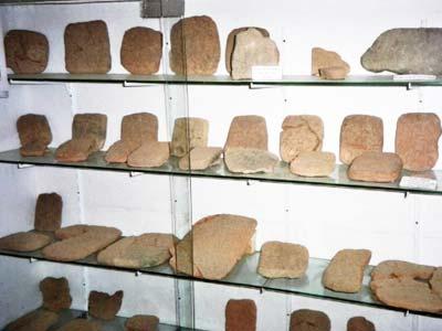 Εκθέματα του Μουσείου του Glozel