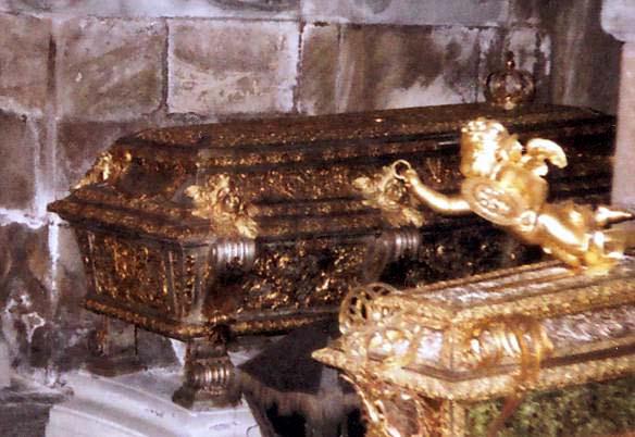 Το φέρετρο της Βασίλισσας Ουλρίκε, στην Εκκλησία του Riddarholmen