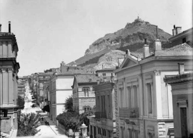 Αθήνα, μέσα της δεκαετίας του 1910