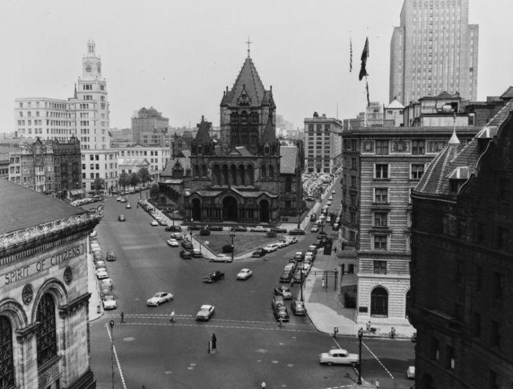 Βοστόνη, 1954