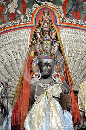 Ο Βούδας με τα χίλια χέρια