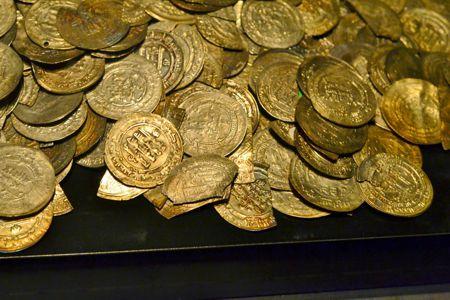 Ένας από τους θησαυρούς των Βίκινγκς που εκτίθενται στο Μουσείο του Visby