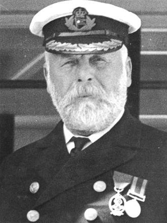 Ο Πλοίαρχος του Τιτανικού, Edward Smith