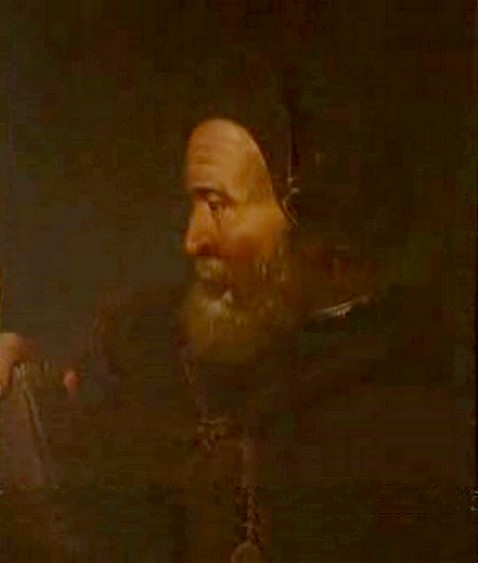 Cosimo Ruggeri. Γεννήθηκε στη Φλωρεντία (η ημερομηνία γέννησης είναι άγνωστη) και πέθανε στο Παρίσι, στις 28/03/1615