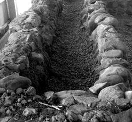 Ο χώρος στον οποίον ανευρέθησαν τα οστά του δολοφονημένου μικροπωλητή