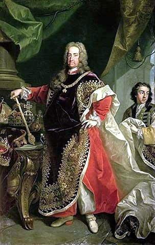 Βασιλιάς Καρόλος VI (01/10/1685 - 20/10/1740)