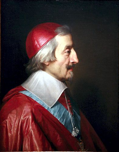 Καρδινάλιος Richelieu (09/09/1585 - 04/12/1642)