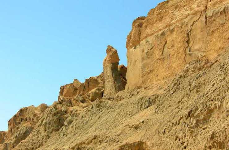 """""""Η γυναίκα του Λωτ"""", Jebel Usdum, Ισραήλ"""