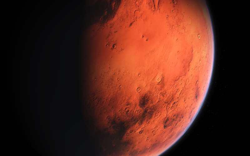 Βλάστηση στον πλανήτη Άρη...