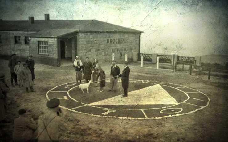 Το αποκρυφιστικό πείραμα του Brocken, το 1932...