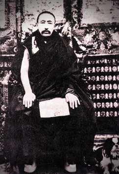 Ο Θιβετιανός μοναχός Thubten Choekyi Nyima (1883 - 1937)