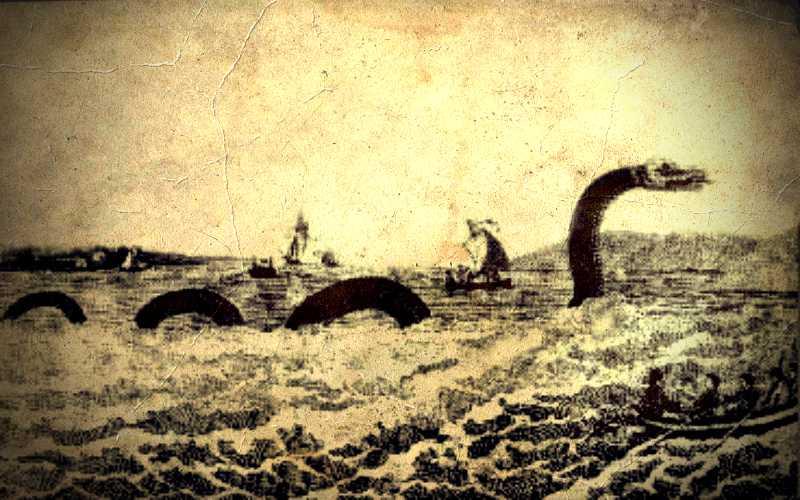 Τεράστιος θαλάσσιος όφις στον Ειρηνικό Ωκεανό, το 1904…