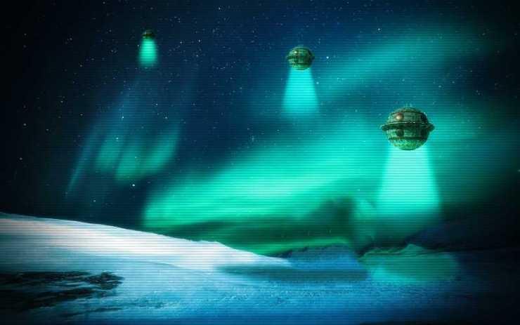 Γιατί εμφανίζονται ιπτάμενοι δίσκοι στους Πόλους της Γης;