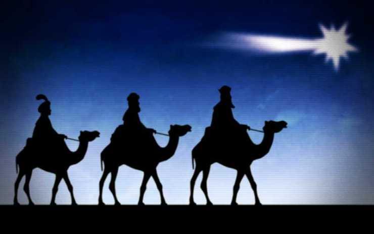 Οι Τρεις Μάγοι με τα δώρα...