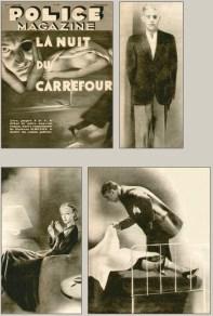 La Nuit du Carrefour (1931) pulp magazine