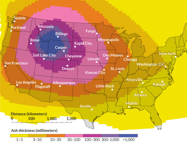 Yellowstone supervolcano on verge of eruption; USGS suppressing information Yellowstone-supervolcano-ash-us