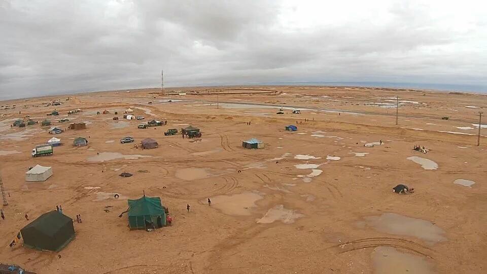 Inundaciones en los campamentos refugiados del Sáhara que analiza Juan de Sola en el blog Referencias
