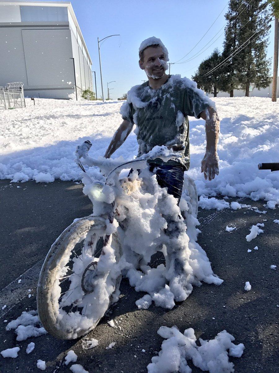 Mysterious Foam Blob Engulfs Santa Clara California In