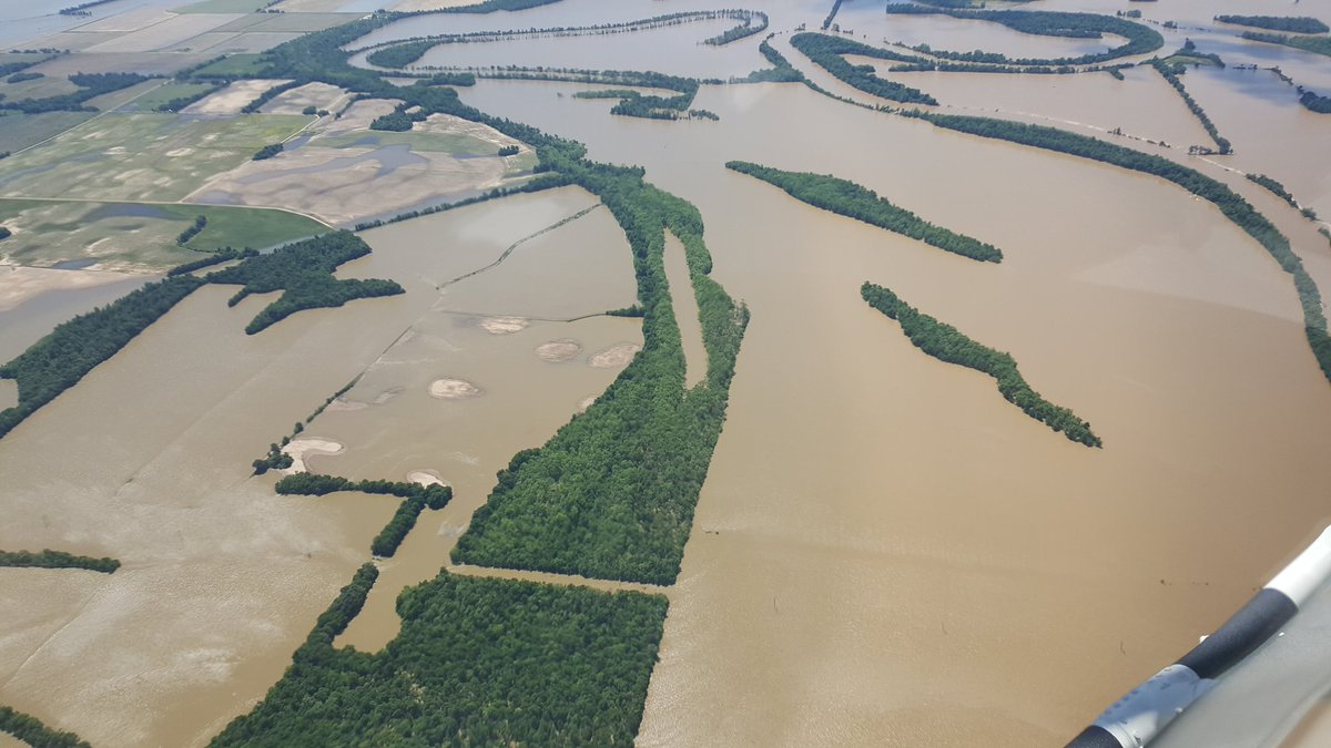 Historic floodings far from over across the Midwest and South Nine deaths blamed on flooding in