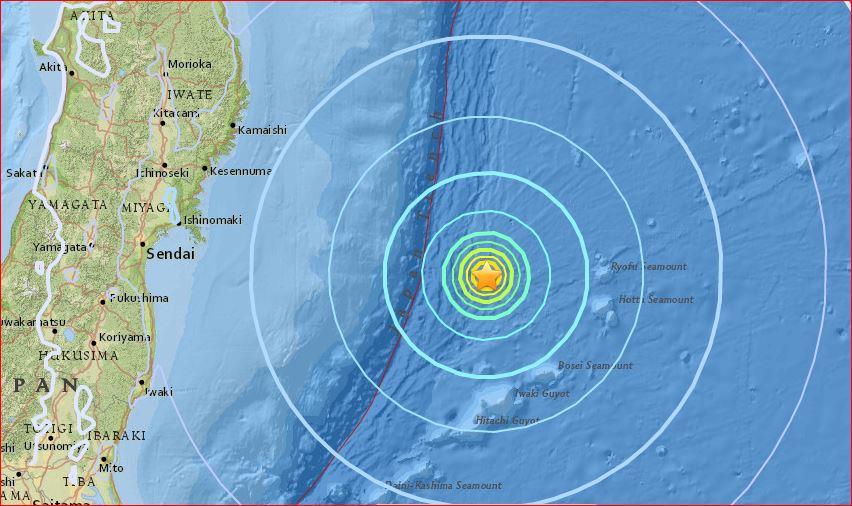 M6.1 earthquake Japan september 20 2017, A M6.1 earthquake hit Japan on September 20 2017