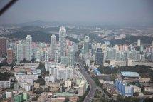 World' 360 Aerial Video Of Pyongyang North Korea