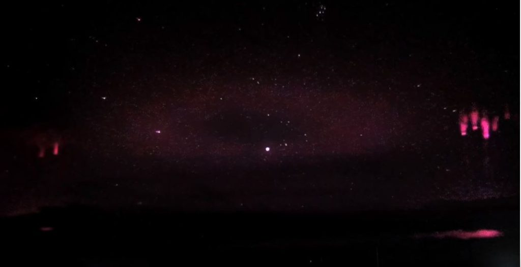 mysterious ring sky russia, transient luminous effect, TLE video