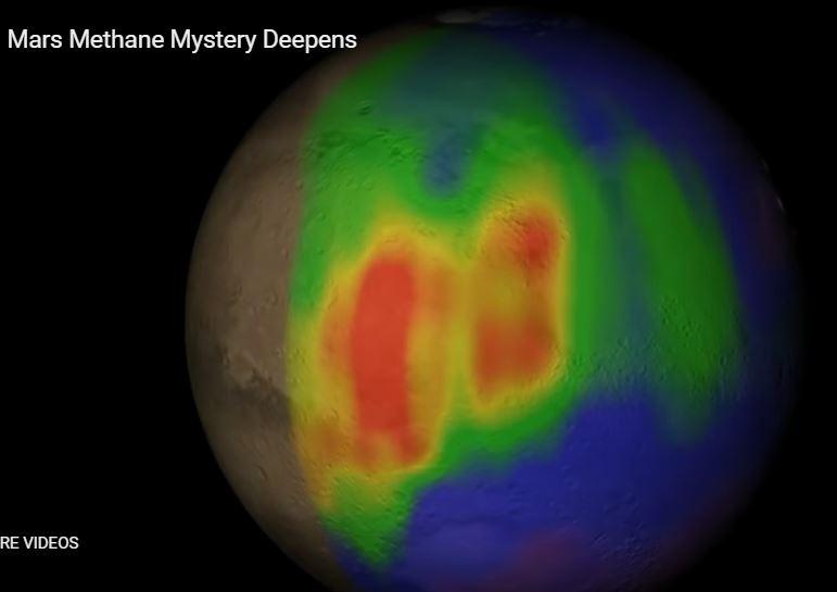 mars methane mystery, The Mars methane mystery