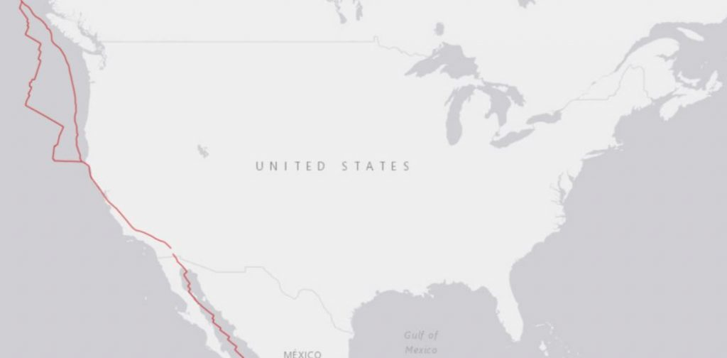 us map earthquake, us map earthquake blank may 6 2019