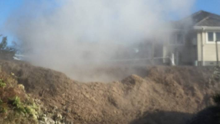geothermal mudpool new zealand, mudpool opens up in backyard of home in rotorua NZ, Geothermal mudpool that burst into Rotorua woman's backyard could become permanent garden feature
