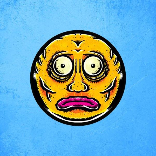 sticker face