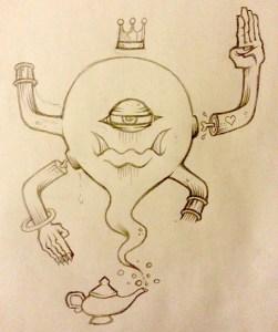 infinite glom sketch
