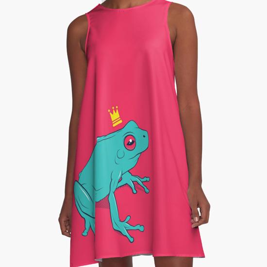 Frog Prince A-Line Dress