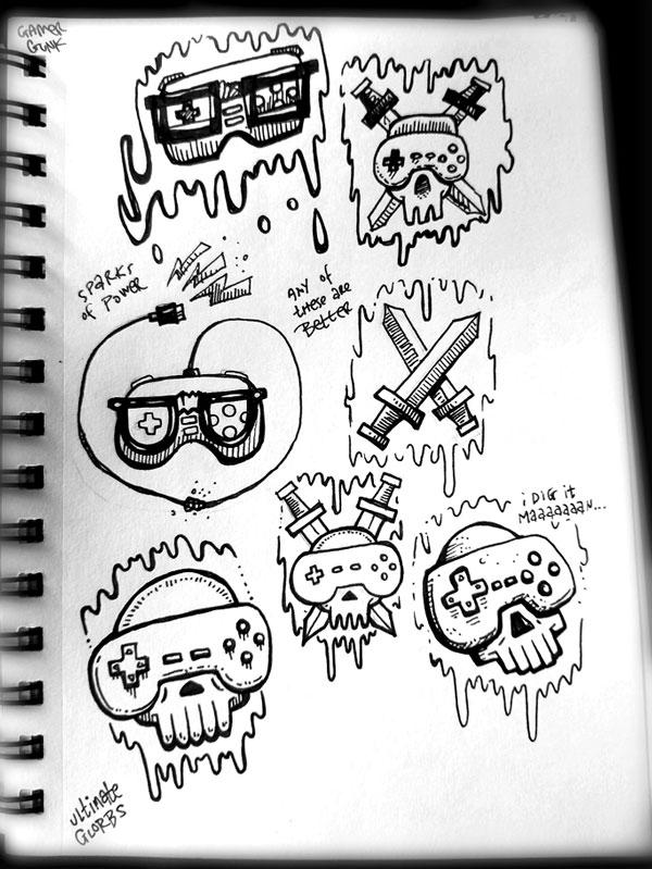 sketchbook friday