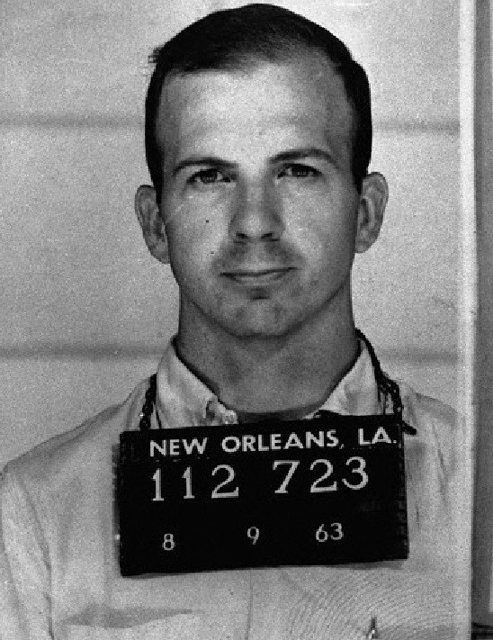 Mugshot in New Orleans of Lee Harvey Oswald