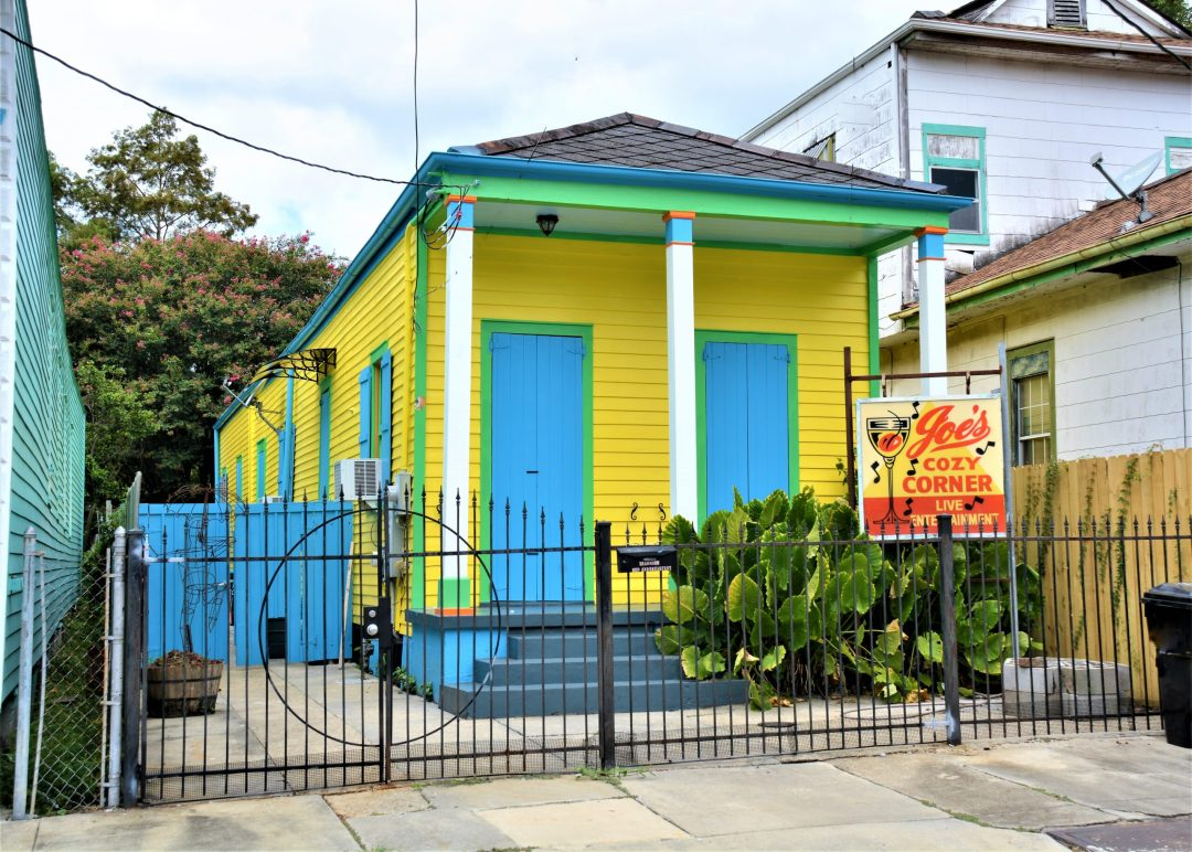 Single shotgun home in the Bywater of New Orleans
