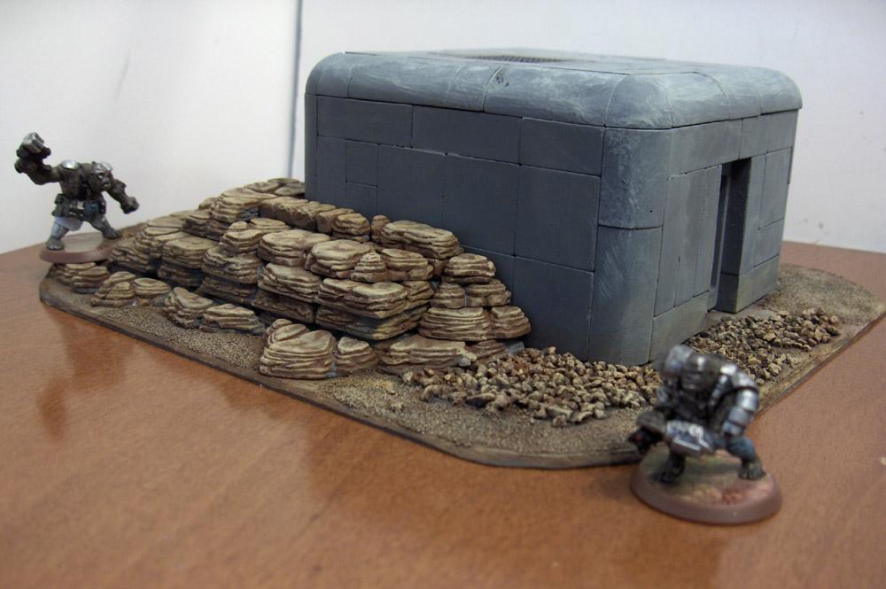 Bunker rear