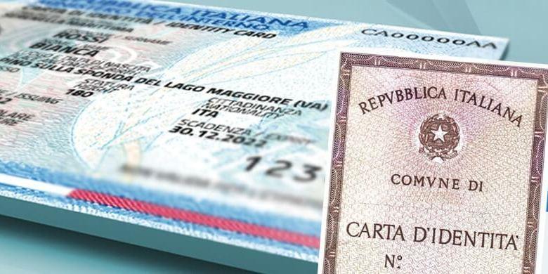 Carta di identità 2020 (per cittadini stranieri ...