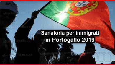 sanatoria per immigrati in Portogallo 2019