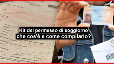 Test italiano per carta di soggiorno UE