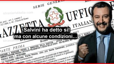 Ultime notizie sul decreto flussi - Salvini ha detto Si