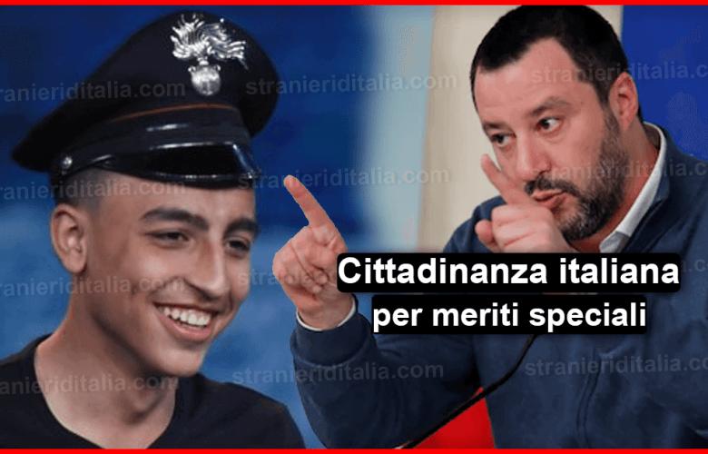 Cittadinanza italiana per meriti speciali - come funziona?
