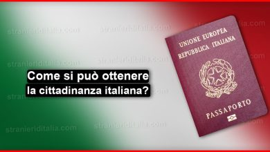 Come si può ottenere la cittadinanza italiana?