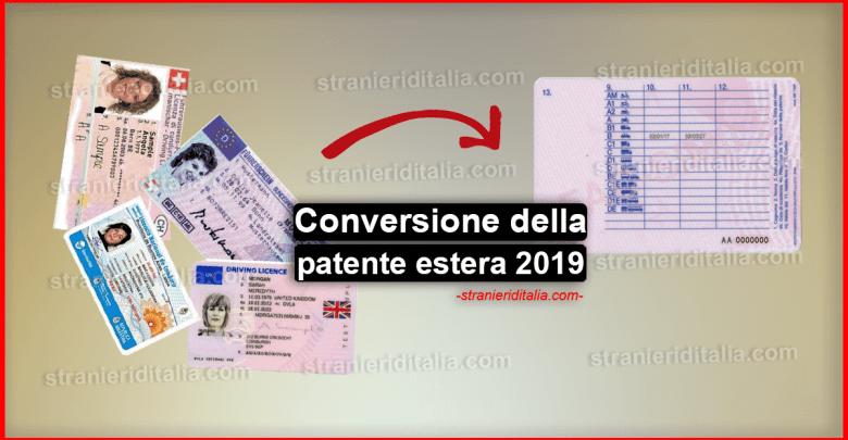Conversione della patente estera: Procedura e documenti necessari