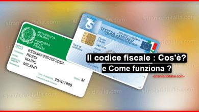 Photo of Il codice fiscale : Cos'è ? Come funziona e come si calcola ?